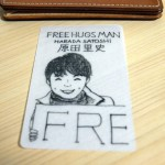 FreeHugsMan Cardを頂きました♪