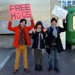 初体験!渋谷ハチ公前でのフリーハグから教わったこと